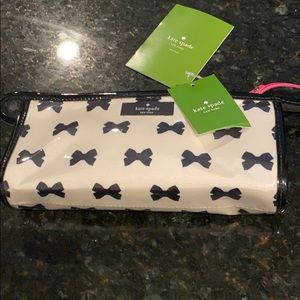 NWT kate spade patent make up bag or pouch